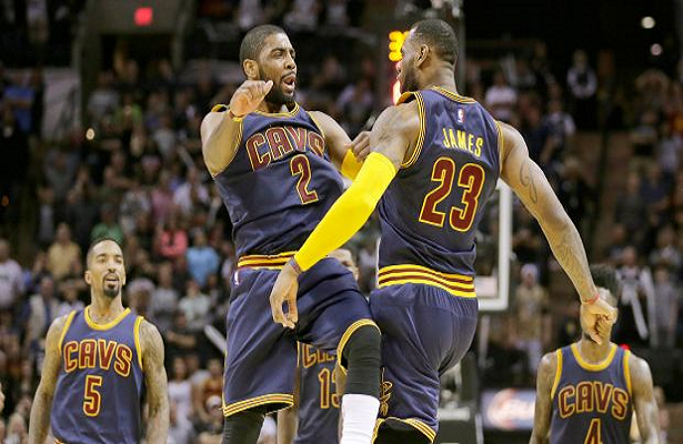 Kyrie Irving scores 57 points, Cavs beat Spurs 128-125 in OT - Pinoy Basketball