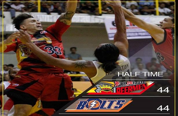 PBA Replay: San Miguel Beer vs Meralco-2q - Pinoy Basketball